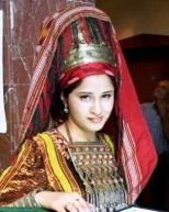 Turkmen newlywed daughter-دختر تازه عروس ترکمن