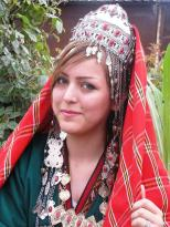 Treditional Turkmen Girl
