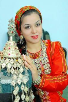 The nice turkmen girl